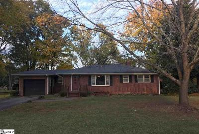Inman Single Family Home Contingency Contract: 550 Cothran Creek