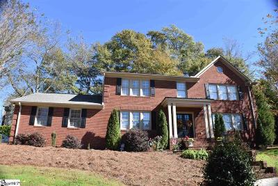 Easley Single Family Home For Sale: 209 Pine Ridge