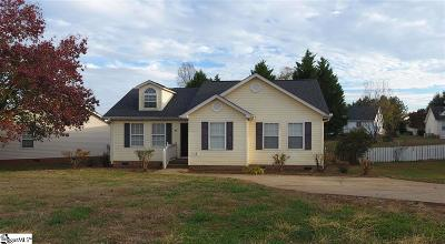 Easley Single Family Home For Sale: 198 Sheriff Mill