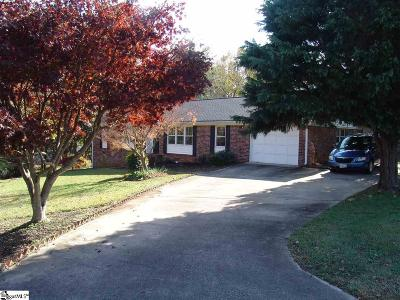 Greenville SC Single Family Home For Sale: $199,900