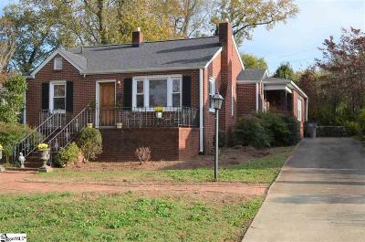 Greenville Single Family Home For Sale: 116 Central