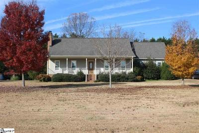 Greer Single Family Home For Sale: 107 Ford