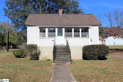 Inman Single Family Home For Sale: 9 E