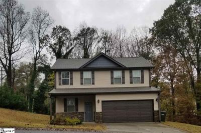 Greer Single Family Home For Sale: 117 Cascade