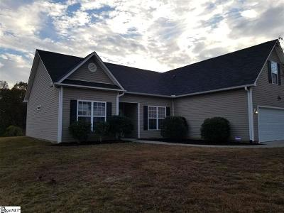 Easley Single Family Home For Sale: 219 Fledgling