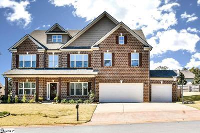 Simpsonville SC Single Family Home For Sale: $500,000