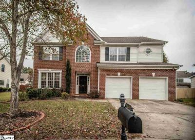 Simpsonville Single Family Home For Sale: 105 Honey Crisp