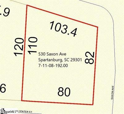 Spartanburg Residential Lots & Land For Sale: 530 Saxon