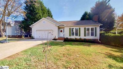 Greer Single Family Home For Sale: 110 Fairview