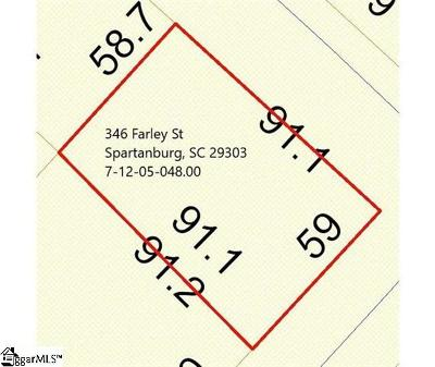 Spartanburg Residential Lots & Land For Sale: 346 Farley