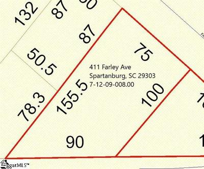 Spartanburg Residential Lots & Land For Sale: 411 Farley