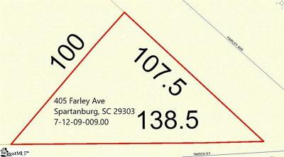 Spartanburg Residential Lots & Land For Sale: 405 Farley
