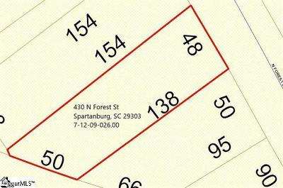 Spartanburg Residential Lots & Land For Sale: 430 N Forest