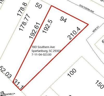 Spartanburg Residential Lots & Land For Sale: Southern