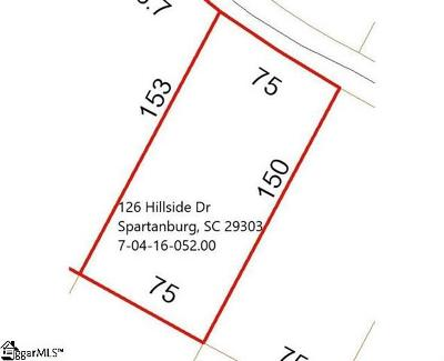 Spartanburg Residential Lots & Land For Sale: 126 Hillside