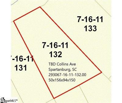 Spartanburg Residential Lots & Land For Sale: Collins