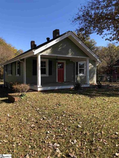 Greenville Single Family Home For Sale: 120 Sycamore