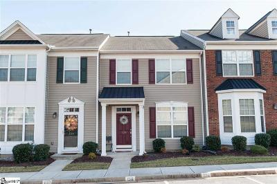 Greer Condo/Townhouse For Sale: 136 Xander
