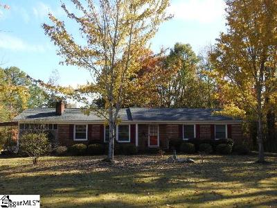 Laurens Single Family Home Contingency Contract: 1745 Pinehaven Street