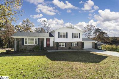 Taylors Single Family Home For Sale: 4 Eastwood