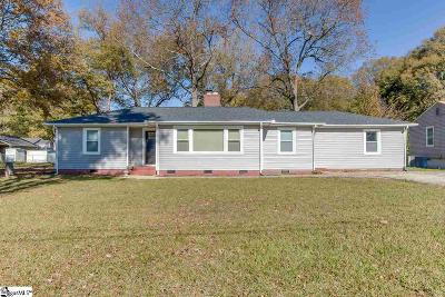 Greenville Single Family Home For Sale: 7 Sharon