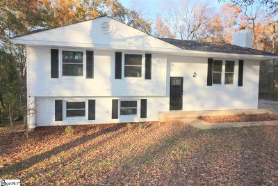 Travelers Rest Single Family Home For Sale: 320 Alta Vista