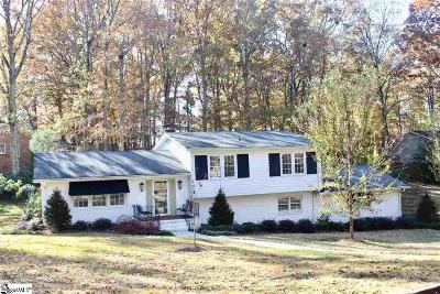 Greenville County Single Family Home For Sale: 201 Bromsgrove