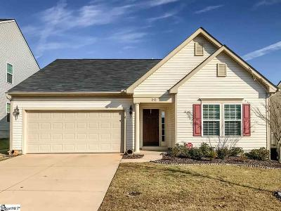 Simpsonville Single Family Home Contingency Contract: 212 Mercer