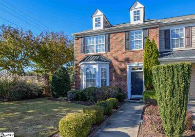 Greenville County Condo/Townhouse For Sale: 1 Swade