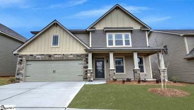 Simpsonville Single Family Home For Sale: 704 Troutdale