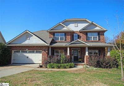 Simpsonville Single Family Home For Sale: 5 Manatee