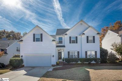 Simpsonville Single Family Home For Sale: 118 N Orchard Farm