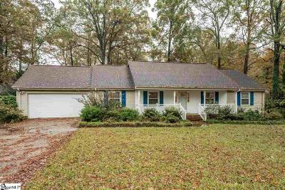 Greenville Single Family Home For Sale: 115 Old Hickory