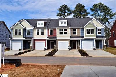 Spartanburg Condo/Townhouse For Sale: 219 Keaton