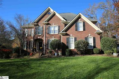 Simpsonville Single Family Home For Sale: 9 Walnut Trace