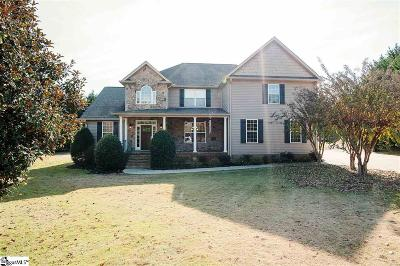 Greer Single Family Home Contingency Contract: 129 Creek Crossing