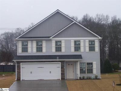 Simpsonville Single Family Home For Sale: 125 Sleepy River