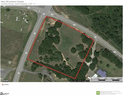 Laurens Residential Lots & Land For Sale: 49