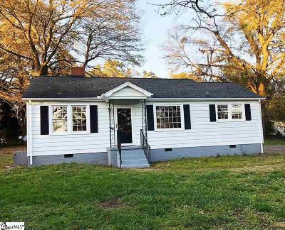 Greer Single Family Home For Sale: 619 Maple