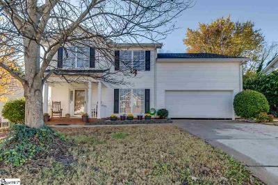 Greer Single Family Home Contingency Contract: 106 Valley Glen