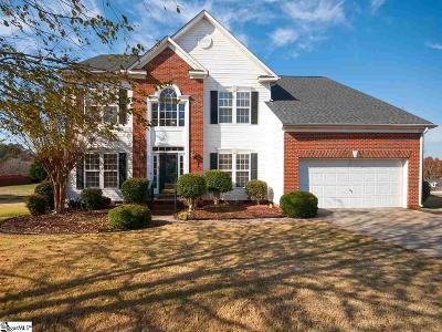 Greenville Single Family Home For Sale: 213 Ridge Bay