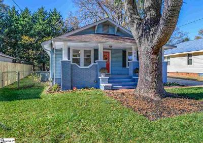 Greenville Single Family Home For Sale: 106 Edwards
