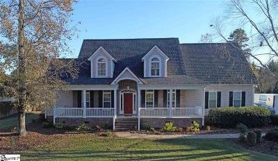 Easley Single Family Home For Sale: 130 Upper Lake