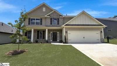 Simpsonville Single Family Home For Sale: 703 Troutdale