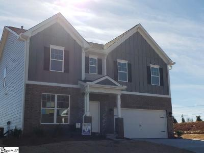 Greer Single Family Home For Sale: 286 Braselton #Lot 1