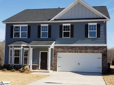 Greer Single Family Home For Sale: 512 Rome #Lot 42