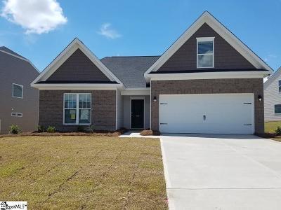 Greer Single Family Home For Sale: 277 Braselton #Lot 49