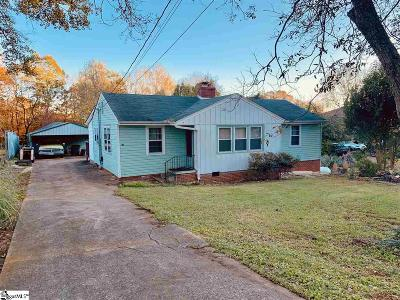 Greenville Single Family Home Contingency Contract: 110 Coleman