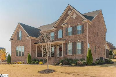 Simpsonville Single Family Home For Sale: 9 Chicora Wood