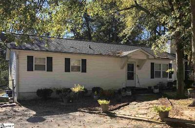 Greenville Single Family Home For Sale: 108 Clearview
